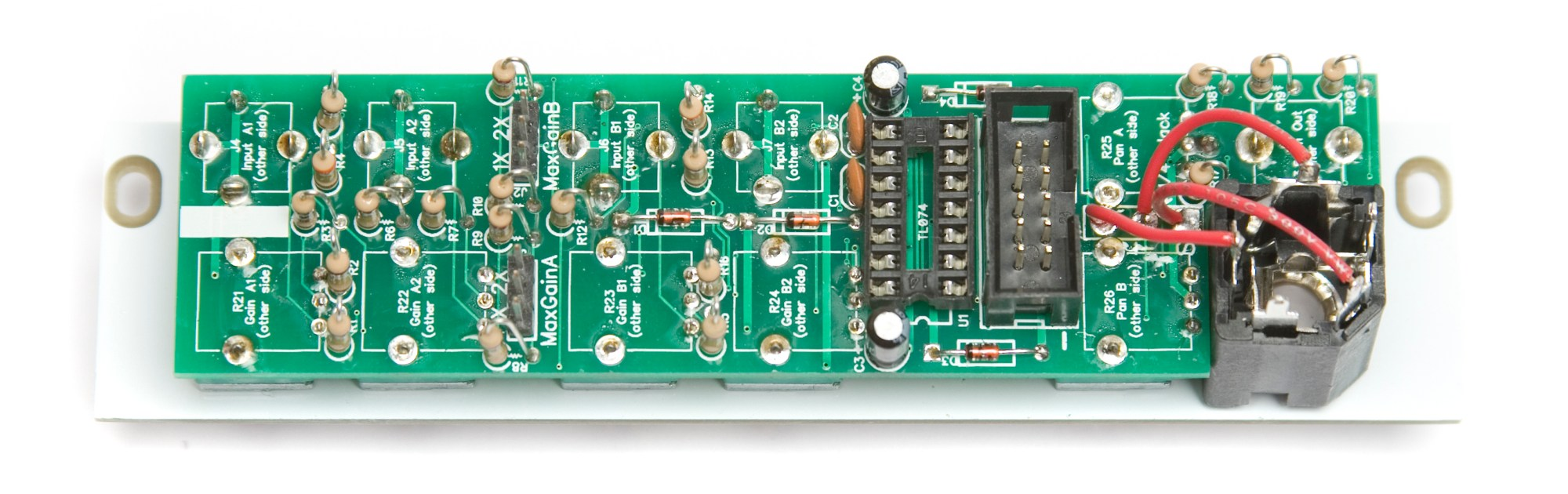 hight resolution of mst stereo output mixer 1 4 jack soldered