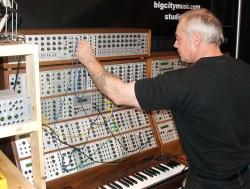 modular analog synthesizer