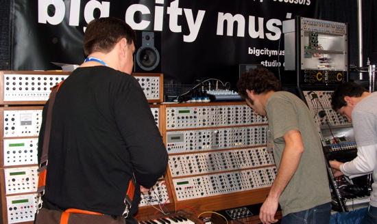 Modular Synthesizer - big city music