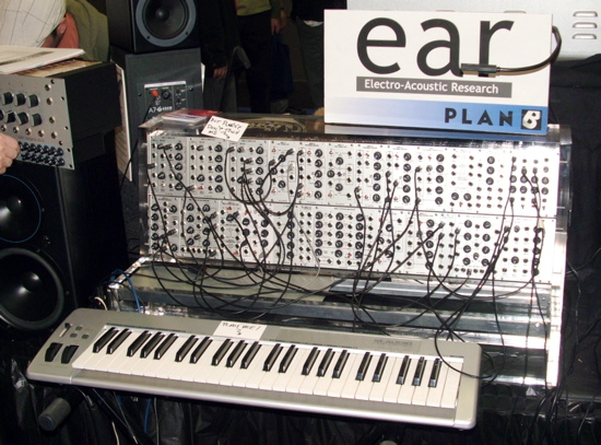 Modular synthesizer EAR group