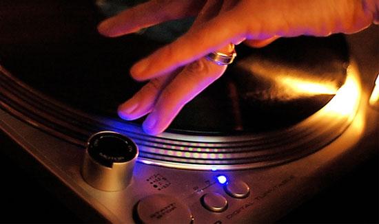 DJ vinyl lp