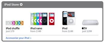 Apple TV iPod