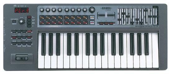 Edirol USB MIDI control keyboard