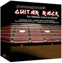 puremagnetik releases guitar rack for ableton live 6 logic garageband synthtopia. Black Bedroom Furniture Sets. Home Design Ideas