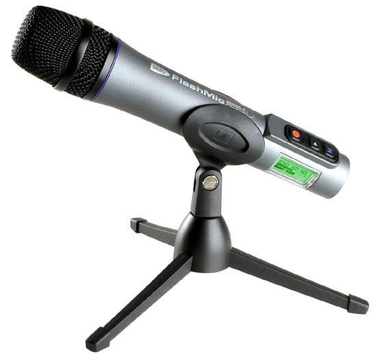Hhhb: FlashMic DRM85-C Cardioid Microphone A Self-Contained