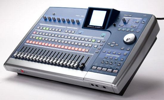 Tascam portable studio