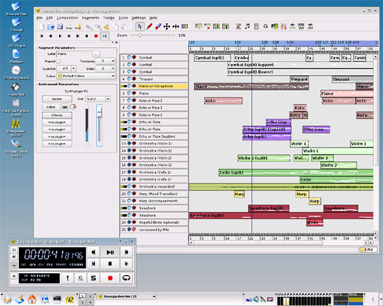 Linux audio software