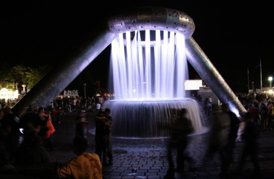Hart Plaza Fountain
