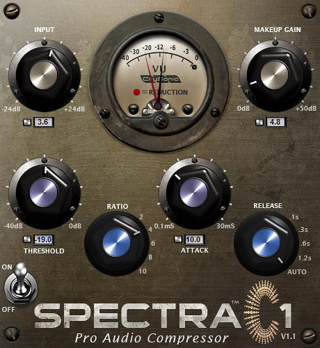 Crysonic Announces Immediate Availability of Spectra C1 Vintage Compressor VST Plug-In