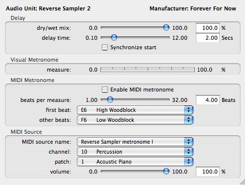 reverse sampler