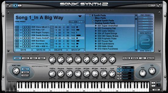 Sonik Synth 2.1