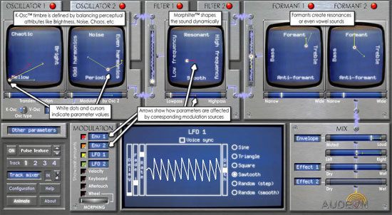 Audeon Releases Mac Version of UFO Software Synthesizer