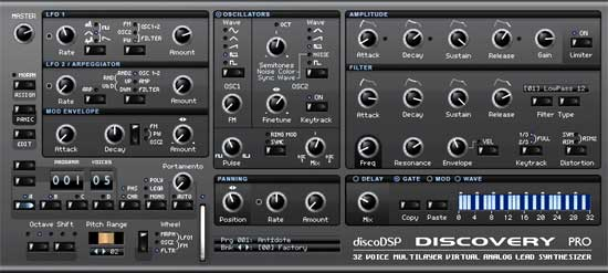 New VST Synth Offers 4 Moog-Style Filters