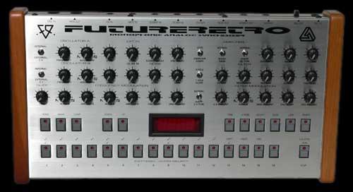 Future Retro 777 custom silver synth