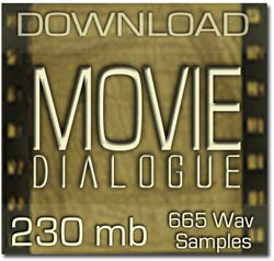 Movie Dialogue Samples
