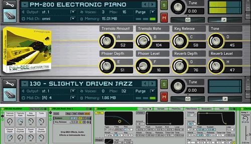 Puremagnetik PM-200 Electronic Piano Micropak