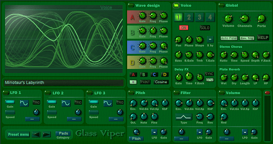 Glass Viper Synthesizer