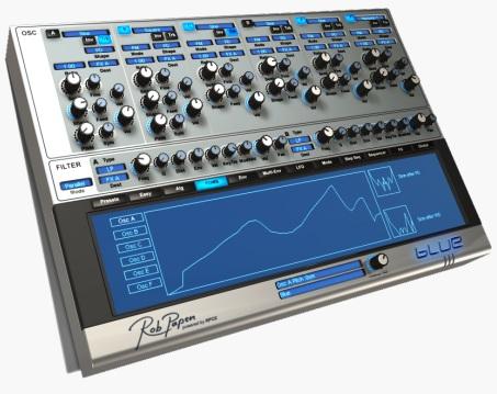 Blue Synthesizer