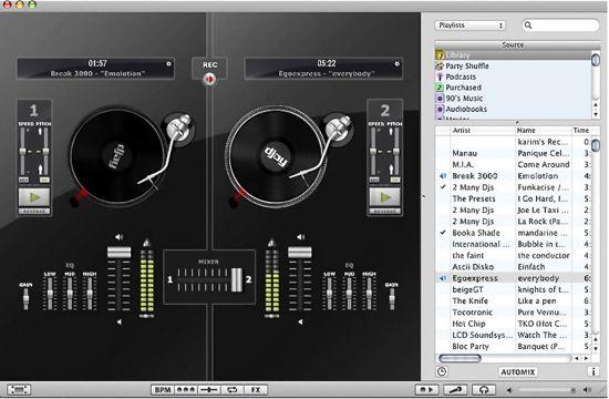Mac DJ software