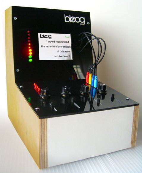Bloog synthesizer