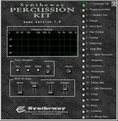 syntheway-percussion-kit