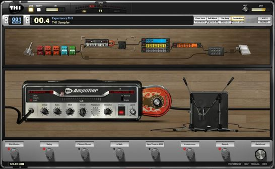 overloud intros th1 triode guitar effects suite synthtopia. Black Bedroom Furniture Sets. Home Design Ideas