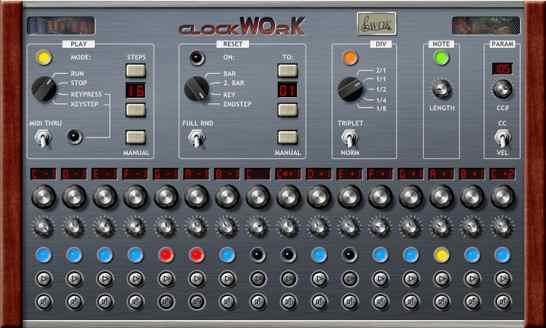 clockwork-step-sequencer
