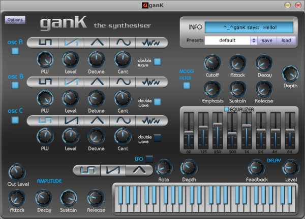 free virtual synthesizer for