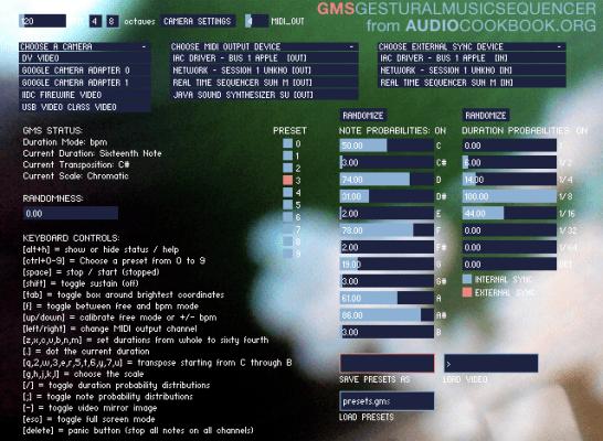 gestural-music-sequencer