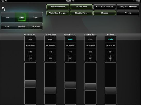 Control GarageBand With Your iPad | Synthtopia