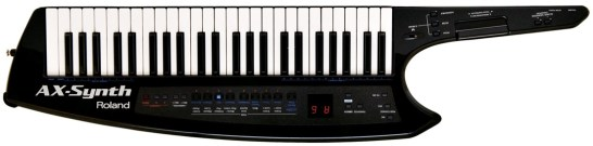 Roland AX-Synth Black Sparkle Keytar