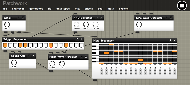 Modular Synthesizer Nl : free modular synthesizer for your web browser patchwork synthtopia ~ Russianpoet.info Haus und Dekorationen