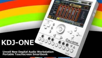 CyberStep Intros KDJ-ONE GameBoy Style Mobile Music Workstation