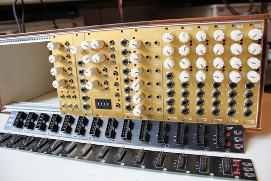 ADDAC Modular Synthesizer modules