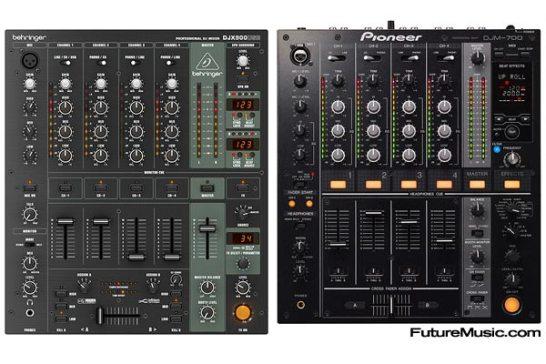 Separated at Birth? Behringer Pioneer DJ mixer