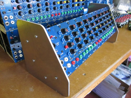 Bug Brand Modular Synthesizer With End Cheeks
