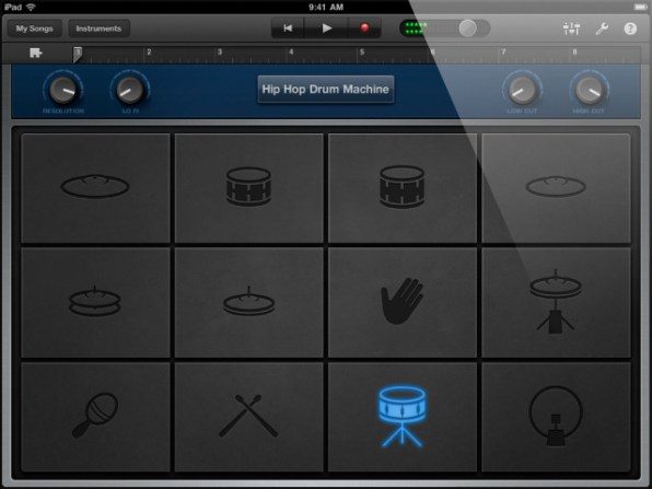 ipad-garageband-drum-machine