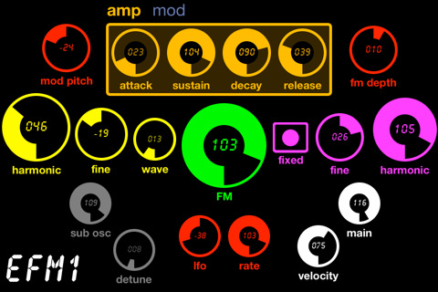 MIDI Touch for iPhone
