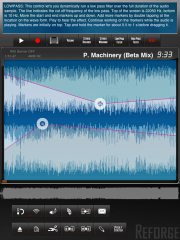 reforge audio editor for iPad