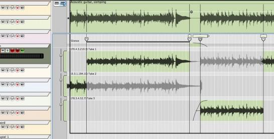Propellerhead Reason 6 comp editor