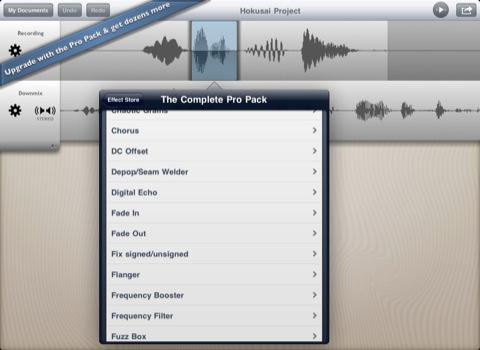 Free audio editor for iPad & iPhone