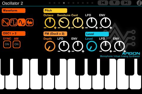 iPhone Synthesizer
