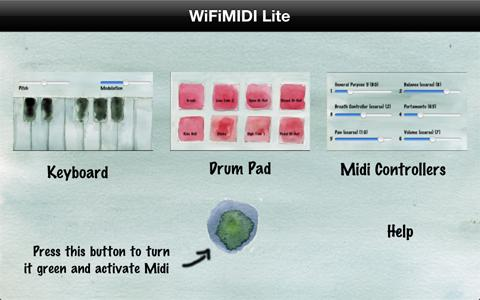New iOS MIDI App – WiFiMIDI Free – Synthtopia