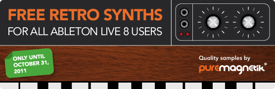 Free Retro Synths for Ableton Live