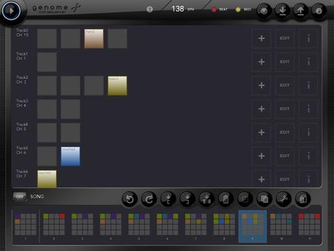 Genome MIDI Sequencer