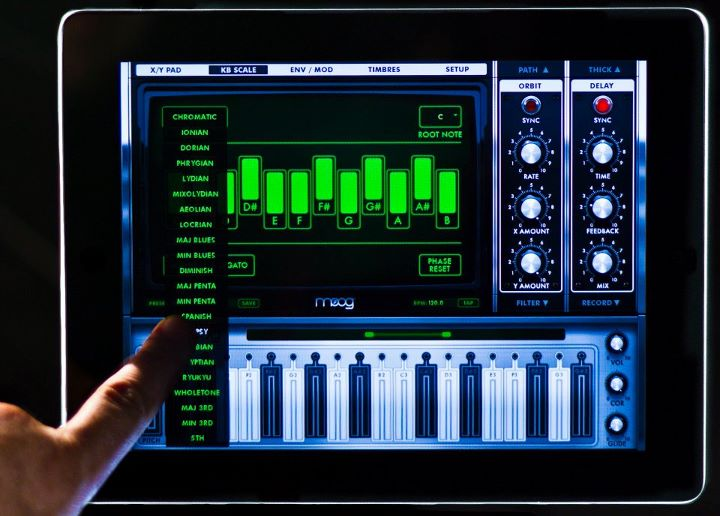 moog animoog the first professional synth for the ipad synthtopia. Black Bedroom Furniture Sets. Home Design Ideas