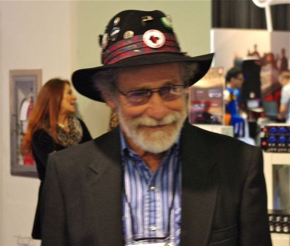 Don Buchla at the 2012 NAMM Show