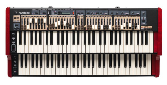 Nord C2D Drawbar Organ