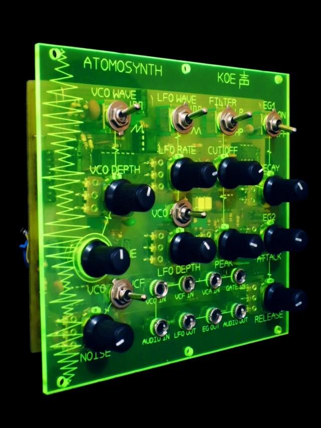 AtomoSynth Eurorack modules