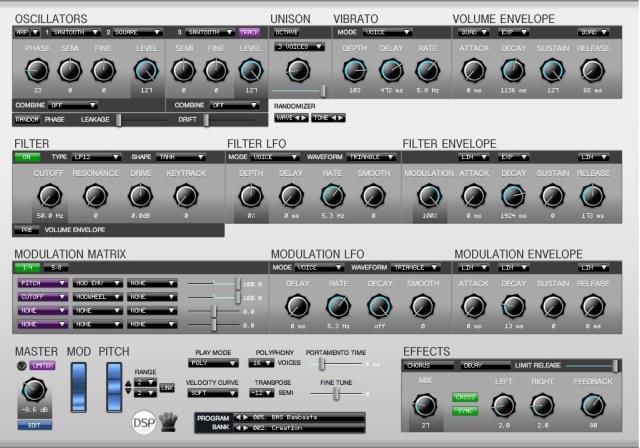 Corona Synthesizer